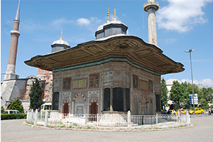 Fountain of Sultan Ahmet the 3rd